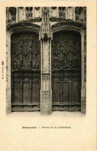 CPA Beauvais - Portes de la Cathedrale (1031889)