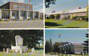 Canada Post Office Hospital Multi View Brooks Alberta
