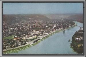 West Virginia, Aerial View of Kanawha Boulevard - [WV-007]