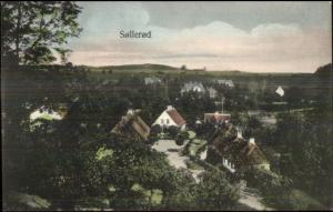Sollerod Denmark General View c1910 Postcard