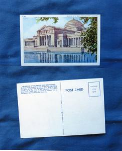 Museum of Science & Industry, Chicago, Jackson Park, Illinois Postcard