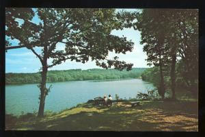 Sandwich, Massachusetts/Mass/MA Postcard, Upper Shawame Lake, Cape Cod