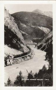 RP; KICKING HORSE CANYON, British Columbia, Canada, 20-30s; Train