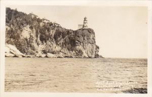 Split Rock Lighthouse North Shore Drive Lake Superior Minnesota Real Photo