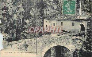 Old Postcard modane 264 our lady of Chaunax
