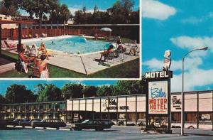 Swimming Pool, The Butler Motor Hotel, Ottawa, Ontario, Canada, 40-60´s