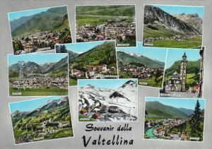 10 View, Souvenir della Valtellina, Lombardy, Italy, 50´s-70´s