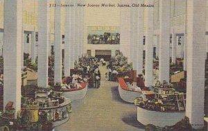 Mexico Juarez New Juarez Market Interior Curteich