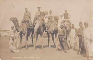 Helquan Military Camp Egypy Egyptian Antique Postcard
