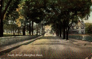 Connecticut Stamford South Street 1910