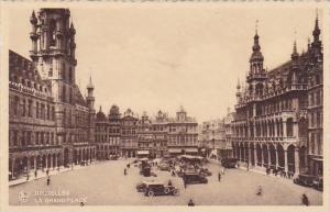 Belgium Brussells Bruxelles La Grand Place Market