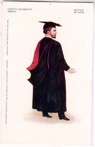 Oxford University Robes, Master of Arts
