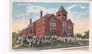 HAGERSTOWN, Maryland, PU-1939; Broadway School