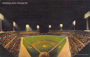 Comiskey park, Chicago, Ill,USA home of White Sox, Base Ball, Baseball Stadiu...