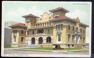 City Hall Pensacola FL unused c1910's