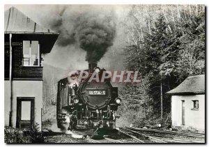 Postcard Modern Schmalspurbahn Kurort Kipsdorf Freital Hainsberg Bahnhof Kips...