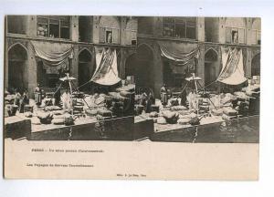 193168 IRAN Persia Caravanserail Vintage stereo postcard