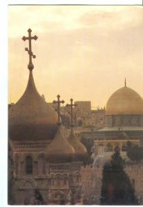 The Church of St. Mary Magdalen and the Dome of the Rock