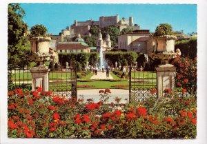 Salzburg, Mirabell Gardens, unused Postcard