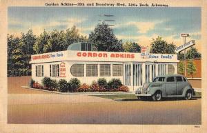 Little Rock Arkansas Gordon Adkins fine foods linen antique pc ZA440609