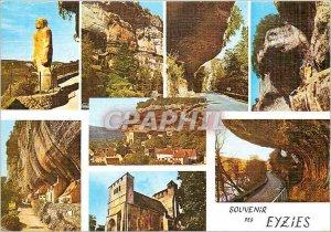 Modern Postcard Souvenir Eyzies