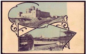 Israel Palestine Le Couvent de st. J Baptiste & River Jourdain Postcard - Jordan