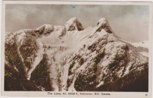 RP, The Lions, Alt. 6500ft., Vancouver, British Columbia, Canada, PU-1936