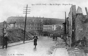 Military WW1 Lille Nord Rue du dragon 01.33