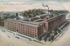SYRACUSE , New York , 00-10s ; H.H. Franklin Works
