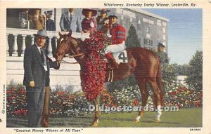 Whirlaway, Kentucky Derby Winner Louisville, Kentucky, KY, USA 1944