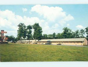 Unused Pre-1980 MOTEL SCENE Lynchburg - Near Nashville Tennessee TN HJ9140