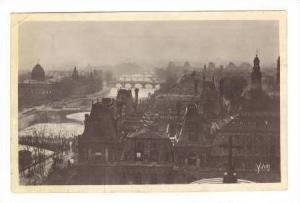 RP, Panoramic View Of Paris, France, 20-30s