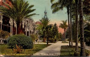 Florida Tampa Tampa Bay Hotel Grounds Curteich