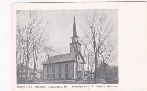 FARMINGTON , Maine , 00-10s; Unitarian Church