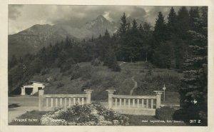 Slovakia Postcard High Tatras Lomnica scenic mountain landscape picture