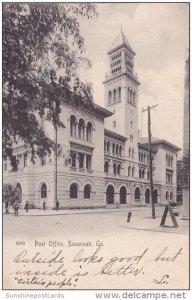 Post Office Savannah Georgia 1905