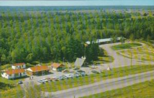 Canada Aerial View French River Trading Post & Motel French River Ontario
