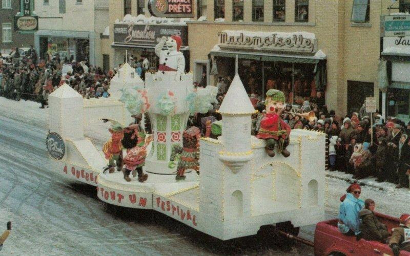 Carnaval de QUEBEC , Canada , 1965 ; Float #3