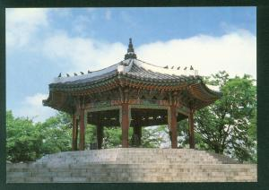 Octagonal Pavilion on Namsan South Korea Vintage Korean Postcard