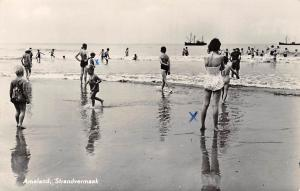 Netherlands Ameland Strandvermaak Beach Plage 1959