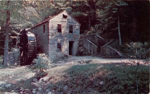 NORRIS DAM TENNESSEE 18th CENTURY GRIST MILL RESTORED ON TVA LAND POSTCARD c1956