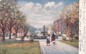 BALTIMORE, Maryland, PU-1908; Eutaw Place