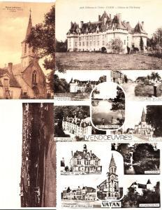 INDRE (DEP.36) Centre 160 Cartes Postales 1900-1940