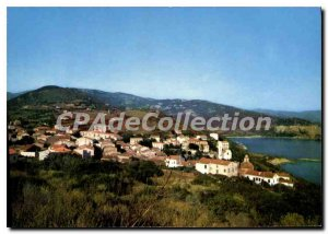 Postcard Modern Charm And Colors Of Corsica Cargese Vue Generale