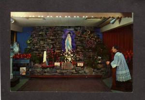 PA Our Lady of Lourdes Chapel Roadside America Pennsylvania Shartlesville PC