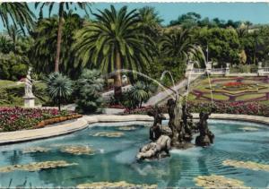 Riviera dei Fiori, S. REMO, Giardini Municipali, 1960 used Postcard