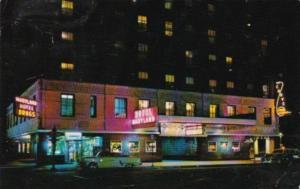 Illinois Chicago Hotel Maryland At Night 1959