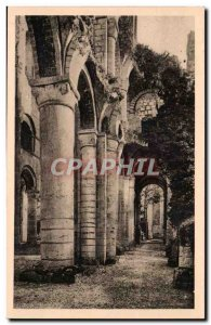 Postcard Ancient Ruins of the & # 39abbaye Jumieges Down south coast