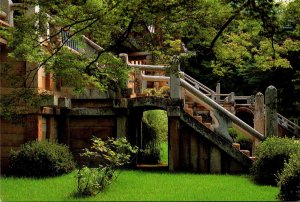 South Korea Kyeongju Yonhwa and Ch'ilbo Stone Bridge At Bulguk-sa Temple