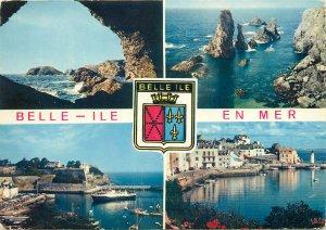 Postcard France Belle ile en Mer roche Percee